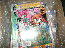 "Knuckles the Echidna #5 & Miles "" Tails "" #2 Sonic the Hedgehog based comics"