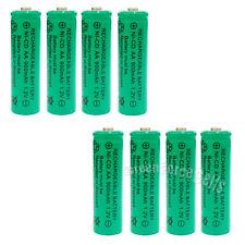 8 pcs AA 900mAh Ni-Cd NICD Ni-Cad 1.2V rechargeable battery cell/RC Green