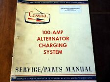 Cessna 100 Amp Alternator used on A185 Ag Service Parts Manual