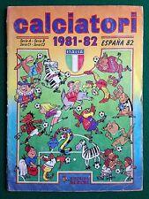 ALBUM Figurine Sticker CALCIATORI 1981-82 81-1982, Ed. Panini , Completo 100% !!