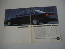 advertising Pubblicità 1988 BMW 535i 535 i