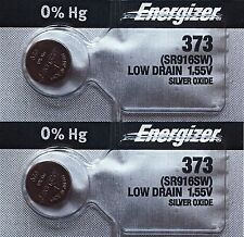 2 pc  373 Watch battery Energizer SR916SW batteries