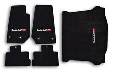 2014-2015 Jeep Cherokee SRT 8 Black Ultimat Carpet - 5pc Mat Set with SRT 8 Logo