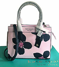 Kate Spade Cameron Grand Floral Satchel Crossbody Serendipity Pink