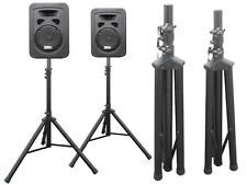 2 x Speakers Stand Speaker DJ Speaker High Stand for Audio PA Speakers