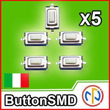 5X Micro pulsante SMD 3x6x2.5 Push tactile Button apricancello NA