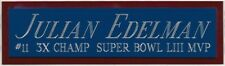 JULIAN EDELMAN NE PATRIOTS NAMEPLATE FOR YOUR AUTOGRAPHED Signed FOOTBALL JERSEY