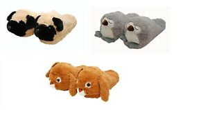 Cozy Time Animal Slippers- Choose from Owl, Pug or Rabbit
