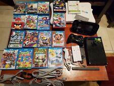 Nintendo Wii U - 32 GB - 18 games & Wii Balance Board