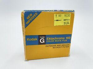 Unopened Kodak Ektachrome 160 Super 8 Color Movie Film Cartridges Type G Read!!