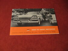 1958 Dodge Accessories Sales Brochure Booklet Book Catalog Old Original