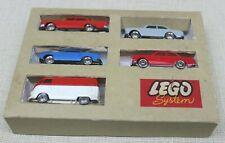 Lego® 1:87 5 Fahrzeuge in original Schachtel 50/60er OVP
