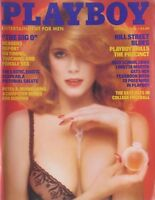 CHARLOTTE KEMP/ REDHEADS October 1983 PLAYBOY Magazine CENTERFOLD: TRACY VACCARO