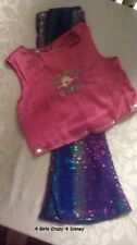 DISNEY LITTLE GIRLS LIZZIE MCGUIRE DRESS UP COSTUME PLAY TIME FUN LARGE