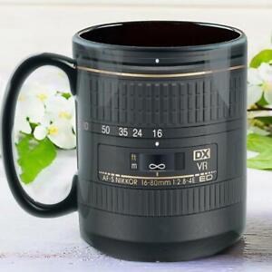 Nikon Lens Photograpger Coffee Mug 3D Realistic Print Mug Gift For Photographer
