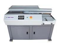 "A4 Automatic Perfect Paper Binding Machine Side Gluing,EVA Book Binder 7"" LCD"