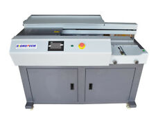 New A3 Automatic Perfect Paper Binding Machine With Side Gluing,EVA Book Binder