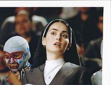 NACHO LIBRE SIGNED 8X10 PHOTO B  ANA DE LA REGUERA SISTER ENCARNACION