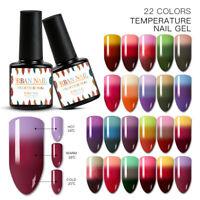 RBAN NAIL 7ml Mood Temperature UV Gel Nail Polish Color Changing Soak Off Salon