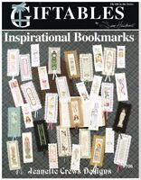 GIFTABLES INSPIRATIONAL BOOKMARKS (33 designs)  #706 CROSS STITCH  LEAFLET