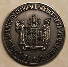 New Zealand Security Intelligence Service Counter-Intelligence Challenge Coin BN