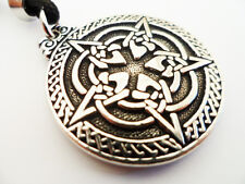 The Celtic Pentacle  Pewter Pendant, Spiritual growth
