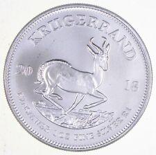 SKU#163740 2018 South Africa 1 oz Silver Krugerrand Proof