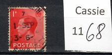 Early Edward VIII  1d stamp, used not hinged, #1168.