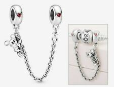 Authentic Genuine Pandora Disney Climbing Mickey Mouse Safety Chain S925 ALE