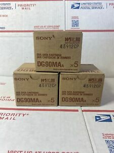 15 New Sony 90M DDS-1 2GB/4GB Data Tape Cartridge  DG90MA sealed DDS90M