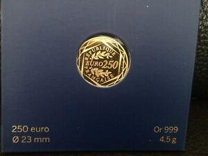 Piece francaise de 250 euro or rare
