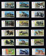 LR COOK ISLANDS 1992 - MNH - ANIMALS - MONKEY - ELEPHANTS - BIRDS