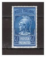 S21519) Italy 1966 MNH New Mail Pneumatic L.20 1v