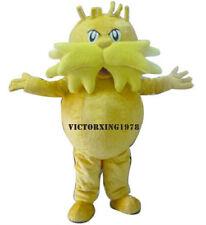Promotion New Lorax Mascot Costume Halloween Free Shipping