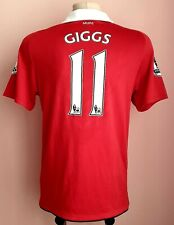 Manchester United 2011 - 2012 Home football Nike shirt #11 Giggs