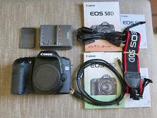 Canon EOS 50D 15.1MP Digital SLR Camera Black Body w/2 batteries, charger, strap