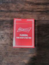 Budweiser Deck Of Playing Cards This Buds For You Factory Sealed Florida