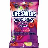 Life Savers Wild Berries Gummies Candy Bag, 7 ounce, 1 Pack