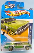 2904 HOT WHEELS CARTE US / MUSCLE MANIA GM 12 / CHEVELLE SS 396 1967 1/64