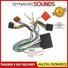 Ct53-ar01 Autoradio Bose Amplifié Actif Bypass Câble pour Alfa Romeo