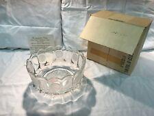 """Avon Vintage Fostoria """"Coin Glass"""" Centerpiece Bowl"""