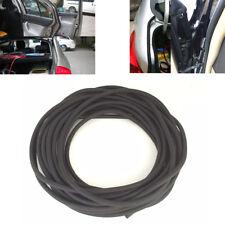 6m O Shaped Black Car Door Tailgate Pillar Weatherstrip Rubber Edge Seal Strip
