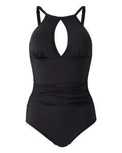 Magisculpt High-Neck Shaping Black Swimsuit SIZE PLUS 28