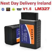ELM327 V1.5 OBD2 II Bluetooth Diagnostic Car Scanner Tool Fault Code Reader 1.5