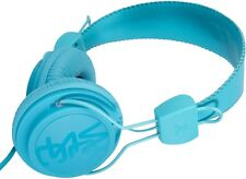 WeSc Matte Blue Conga On Ear Headphones with Handsfree Microphone New in Box