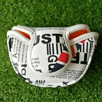 UK Flag Golf Small Mallet Putter Head Cover with Magnetic Closure