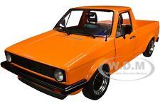 1982 Volkswagen Caddy Mki Pickup Truck Orange 1/18 Diecast Model Solido S1803502