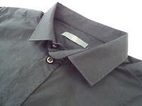 "ALEXANDER McQUEEN Mens Shirt 🌍 Size 48 (CHEST 40"") 🌎 RRP £295+ 📮 PLAIN BLACK"