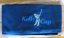 SCOTT GOLF TRAVEL COVER BAG~KELLY CUP~FLYING GOLFER~EMBROIDERED~DARK BLUE