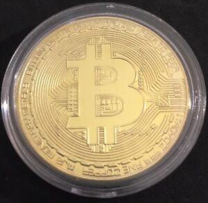 BTC Crypto Medalla Bit Coin